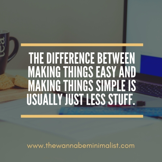 Easy vs. Simple
