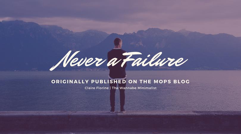 Never a Failure (1)